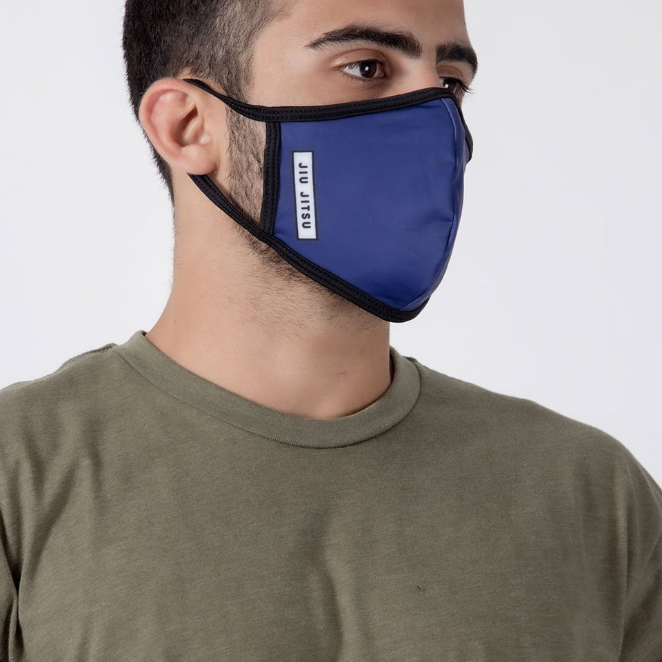 Box Navy - Unisex Face Mask