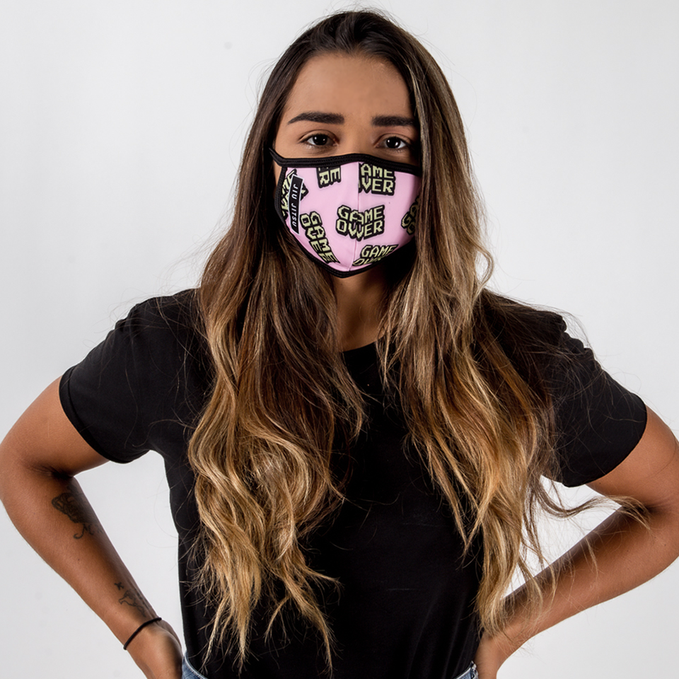 Game Over - Unisex Face Mask - Fighters Market