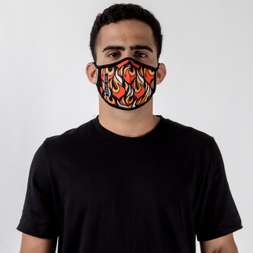 JJ Fire - Unisex Face Mask - Fighters Market
