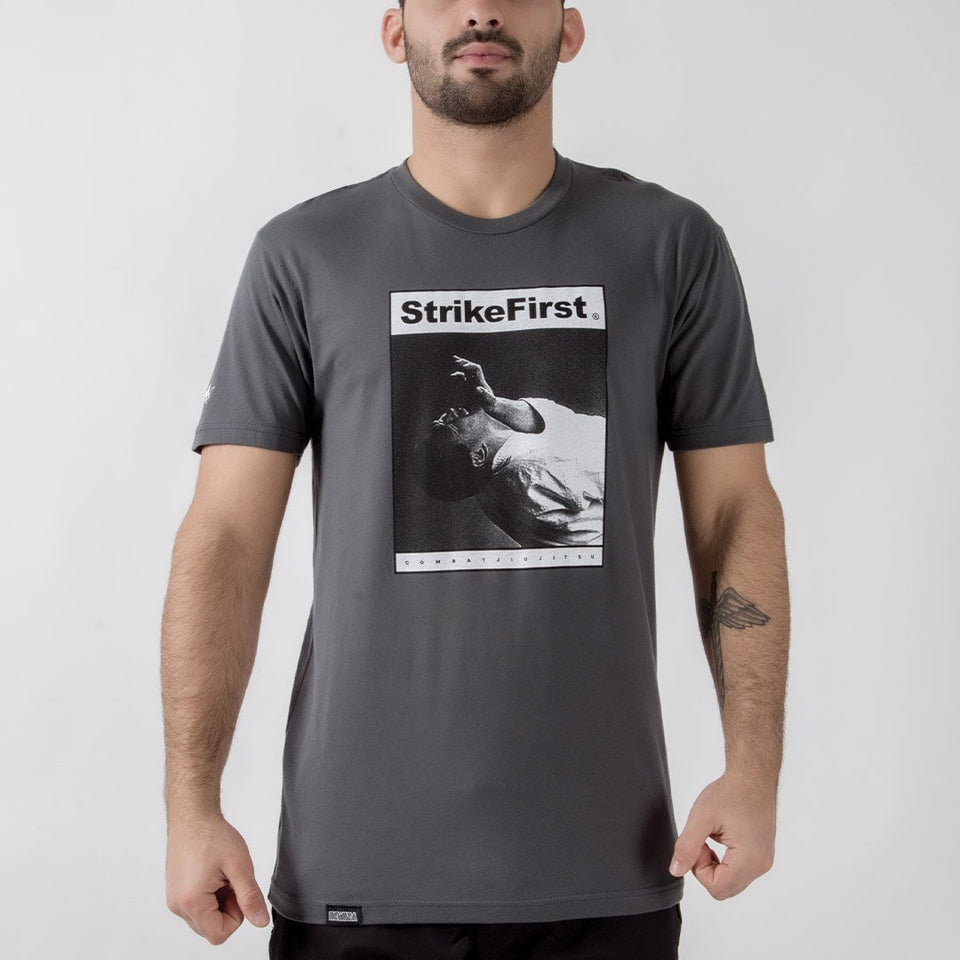 Newaza Strike First Tee - Fighters Market
