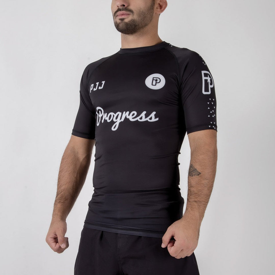 Progress White Label 2.0 Rashguard - Fighters Market