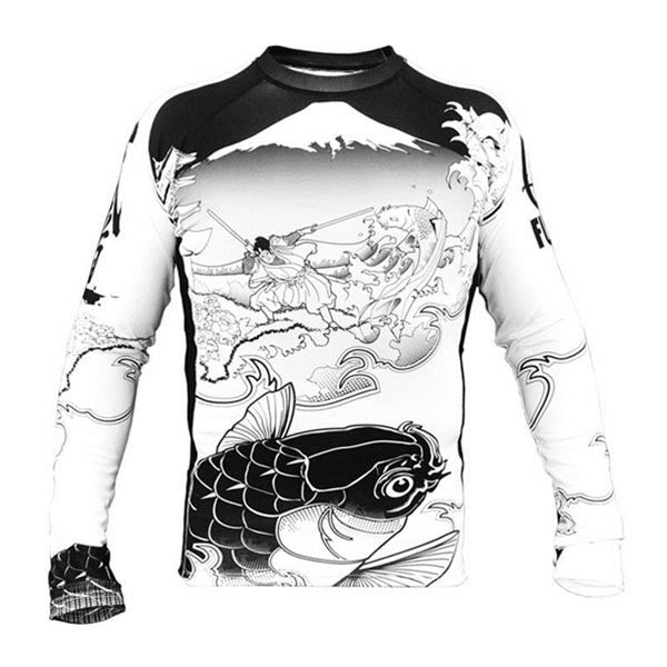 Fuji Sakana Long Sleeve Rash Guard - Fighters Market
