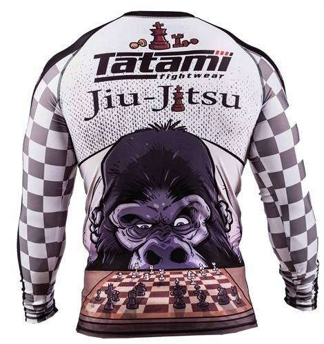 Tatami Chess Gorilla Rash Guard - bjj sports