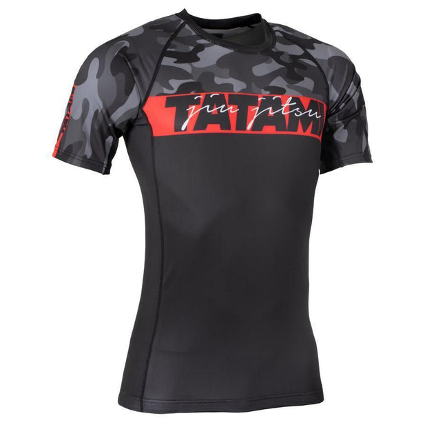 Tatami Red Bar S/S Rash Guard