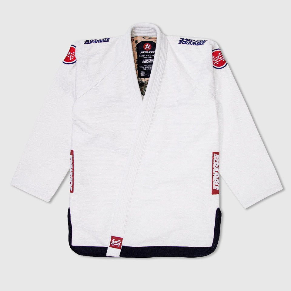 Scramble Athlete V4 550+ Jiu JItsu Gi - Fighters Market