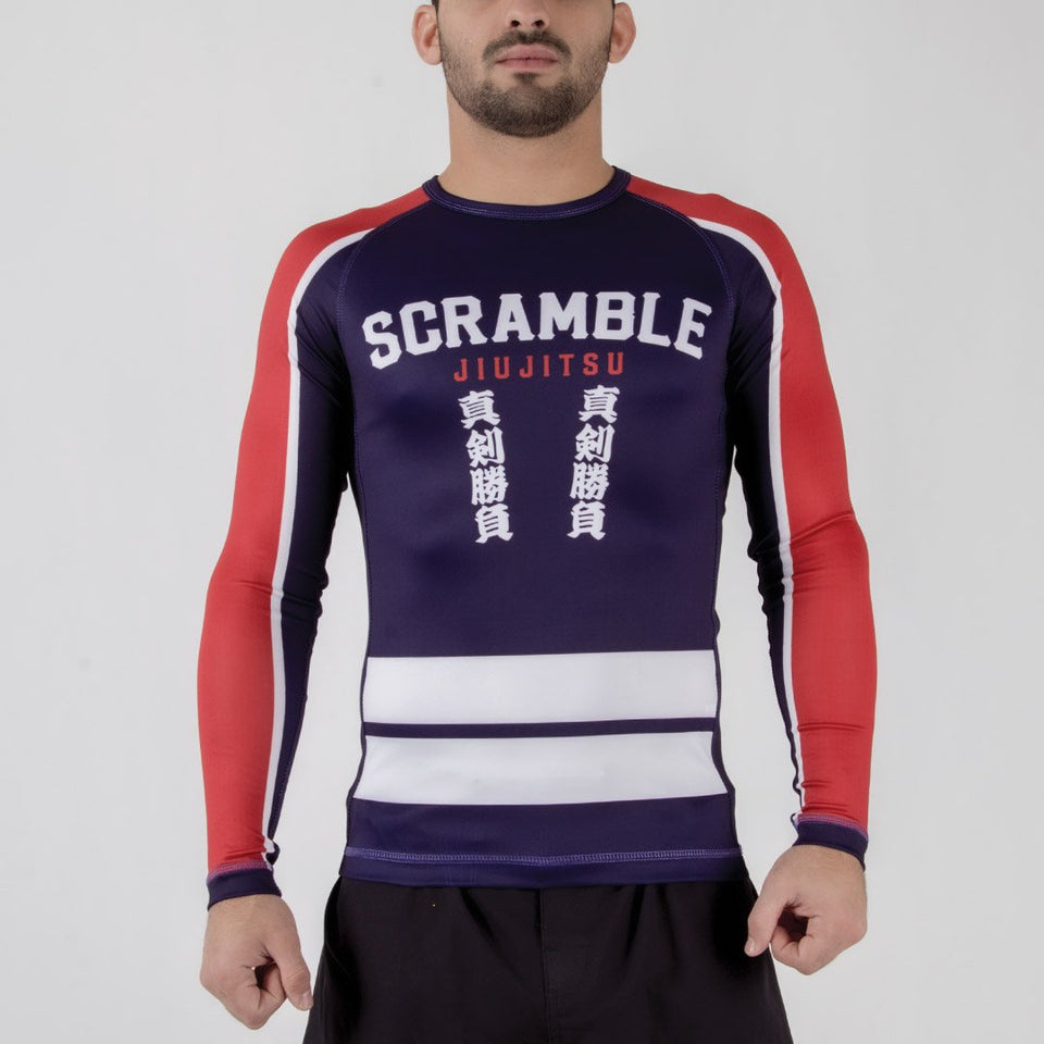 Scramble Buke Hikeshi Rashguard - Fighters Market