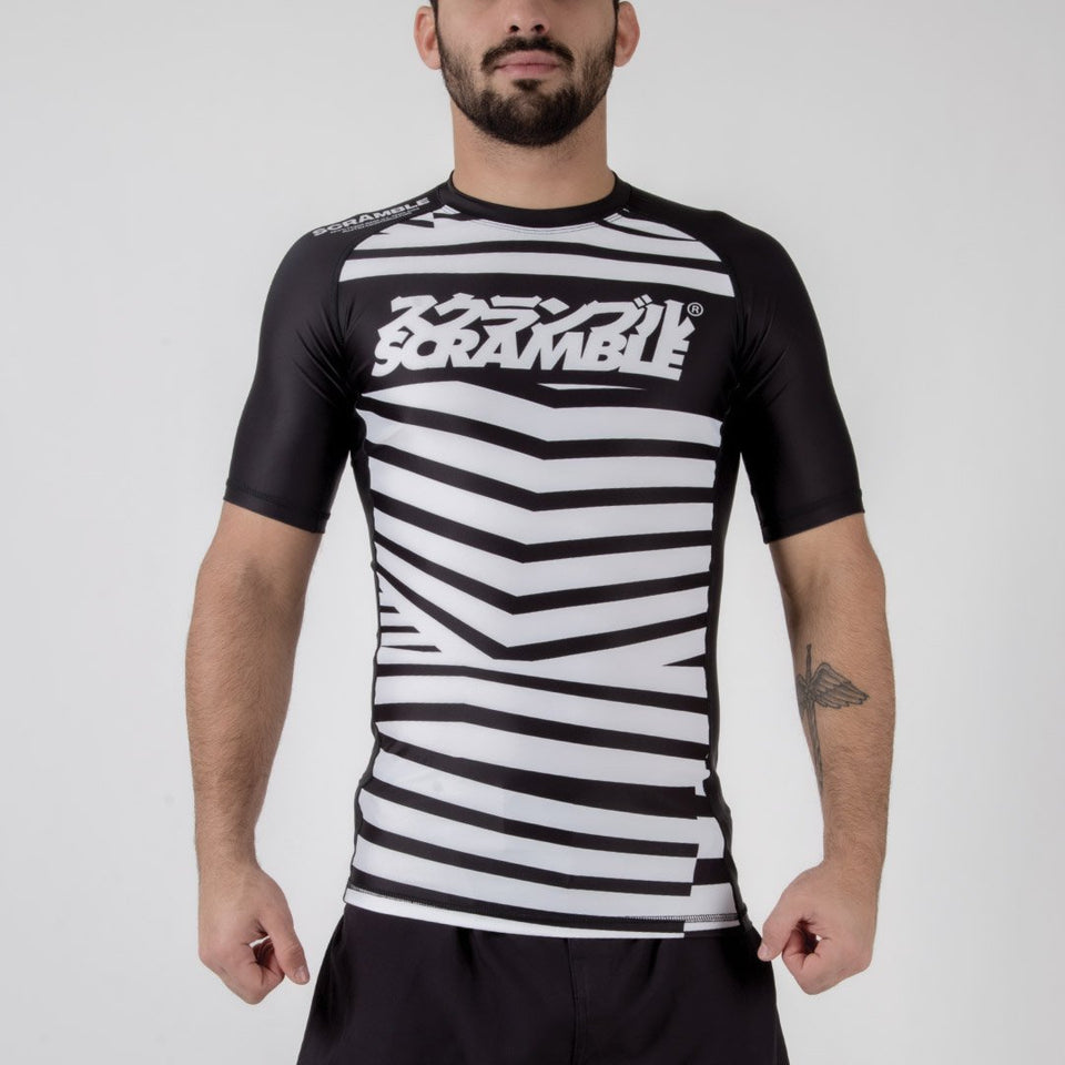 Scramble Dazzle Camo Rashguard - Fighters Market