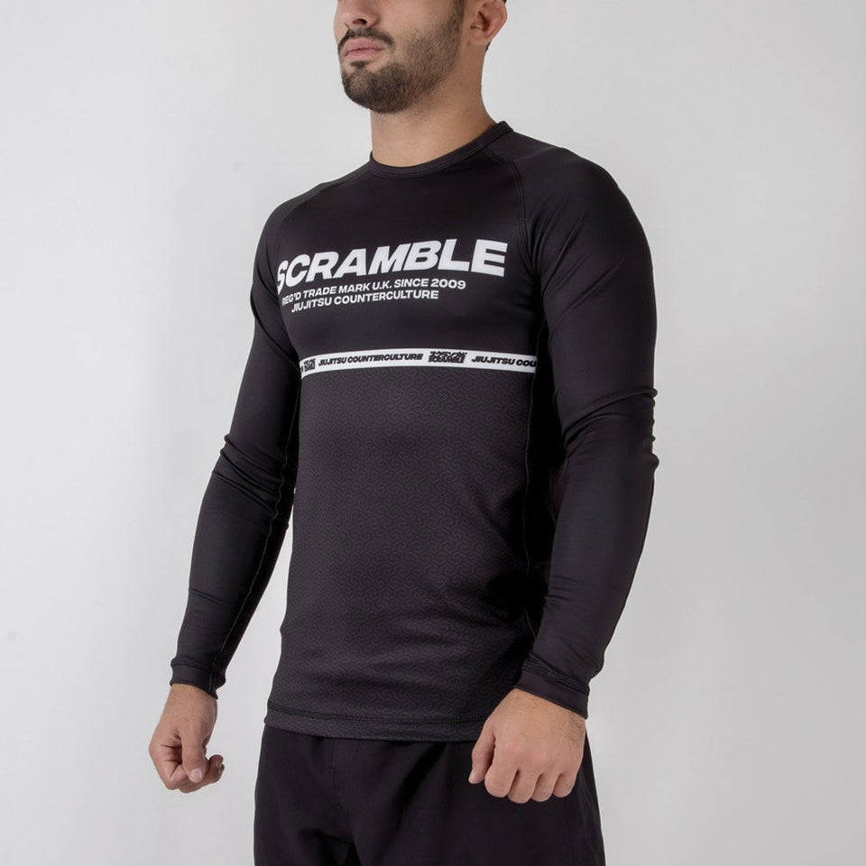 Scramble Ranked V4 Rash Guard - Fighters Market
