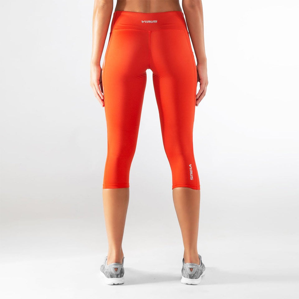 Virus Women's Stay Cool V2 Compression Crop Pant - Fighters Market