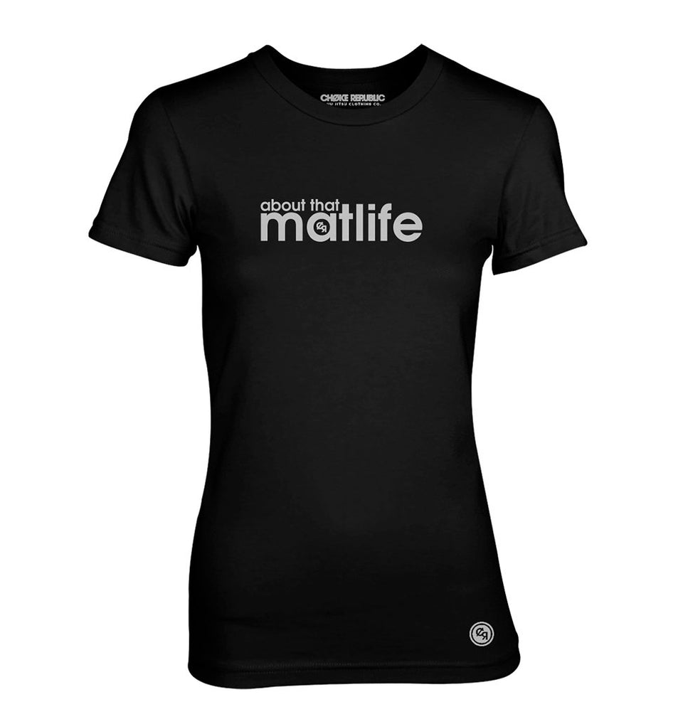 Choke Republic About that Matlife Women's Tee - Fighters Market