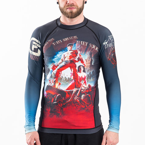 Fusion FG Army of Darkness: Hail to The King Rash Guard - Fighters Market