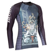 Tatami Cyber Gentle Panda Rash Guard
