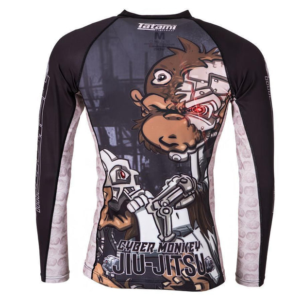 Tatami Cyber Thinker Monkey Rash Guard