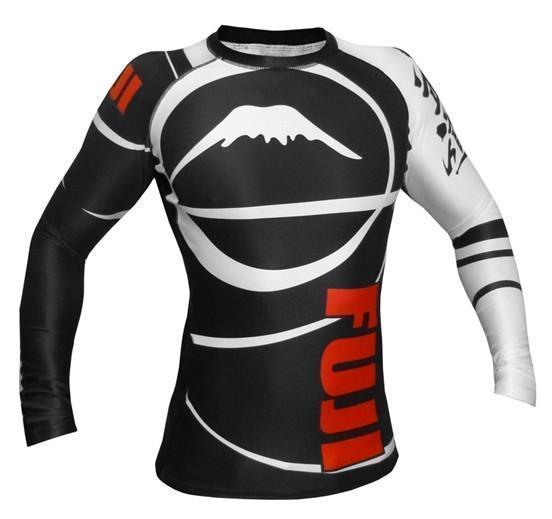 Fuji IBJJF Freestyle Long Sleeve Rash Guard - bjj sports
