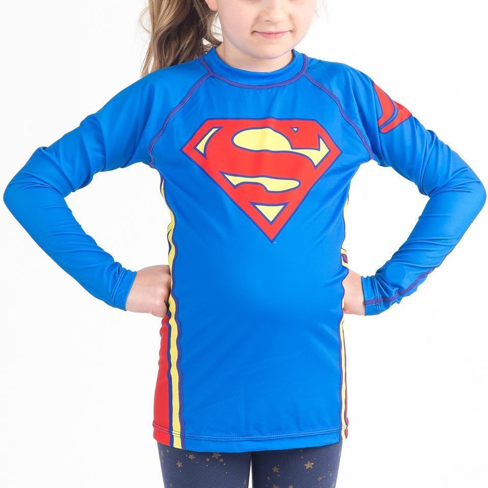 Fusion FG Superman Logo Kids Rash Guard - Fighters Market