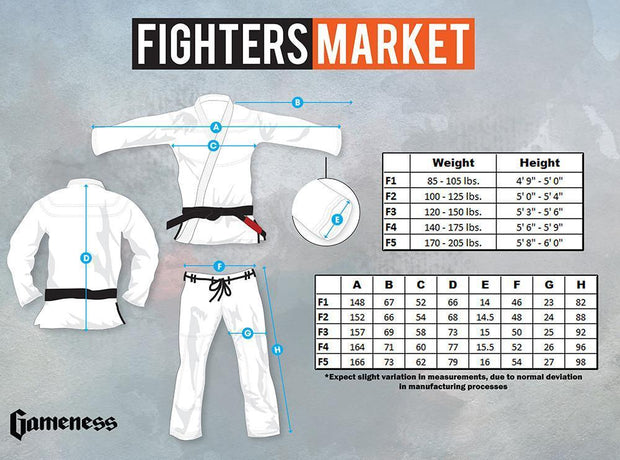 Gameness Womens Pearl Gi - bjj sports