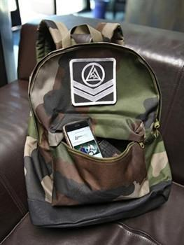 Gracie Light Shoulder Backpack - Camo - Fighters Market