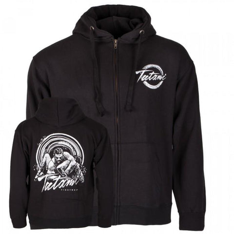 Tatami Grapplers Collective - Kimura Zip Up Hoodie