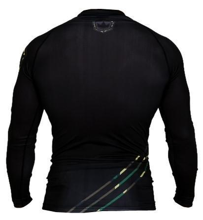 Kingz Camo Long Sleeve Rash Guard - bjj sports