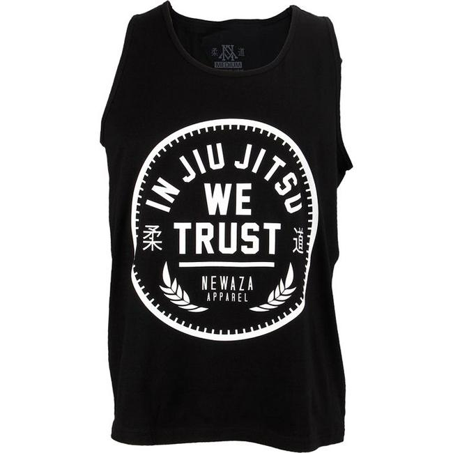 Newaza In Jiu Jitsu We Trust Tank - Fighters Market