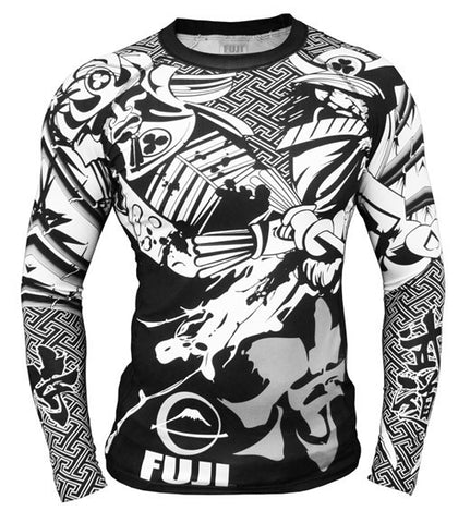 Fuji Musashi Long Sleeve Rash Guard - Fighters Market