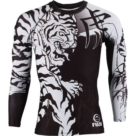 Fuji Moko Tiger Long Sleeve Rashguard - Fighters Market