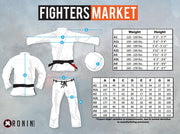 Ronin Emperor Limited Edition BJJ Gi - White - Fighters Market