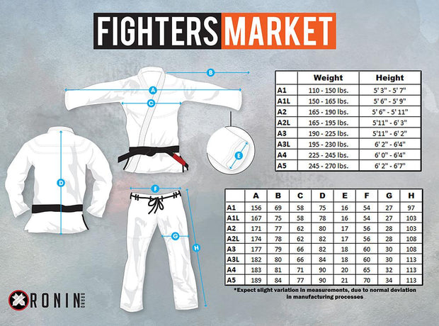 Ronin Emperor Limited Edition BJJ Gi - Fighters Market