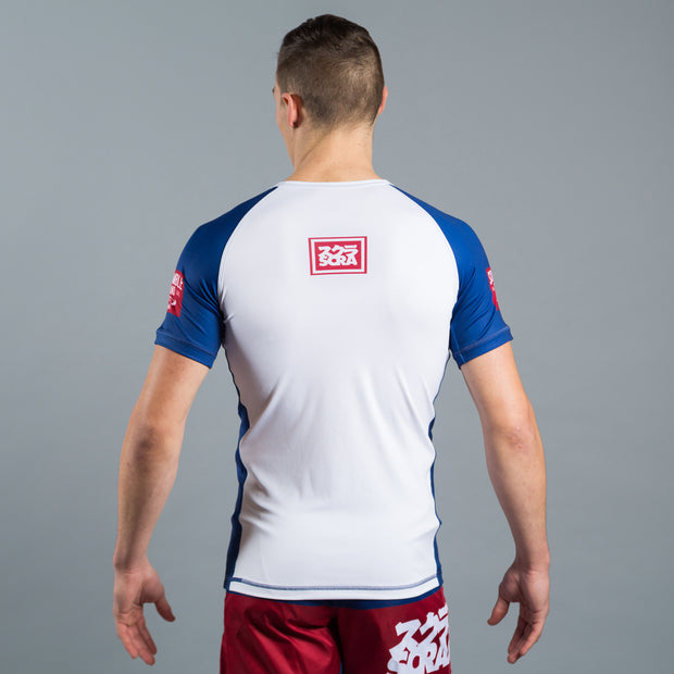 Scramble RWB Rash Guard - Fighters Market