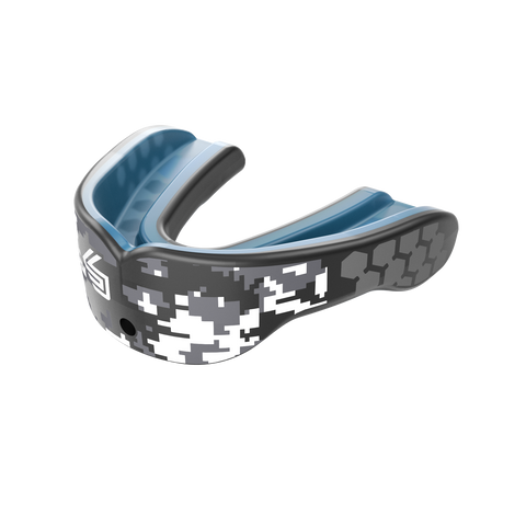 Shock Doctor Gel Max Power Mouth Guard - Black Camo