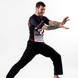 Fusion FG Street Fighter Ryu Rash Guard - Fighters Market