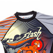 Fusion FG The Flash Running Man Rash Guard - Fighters Market