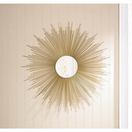 Golden Rays Mirror - G Street Furniture Rockville Free delivery maryland dc virginia