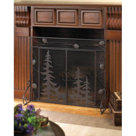 Woodland Forest Fire Place Screen - G Street Furniture Rockville Free delivery maryland dc virginia