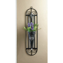 French Cottage Wall Vase - G Street Furniture Rockville Free delivery maryland dc virginia