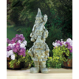 Stacked Gnome Statue - G Street Furniture Rockville Free delivery maryland dc virginia