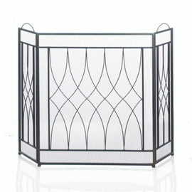 Waves Fireplace Screen - G Street Furniture Rockville Free delivery maryland dc virginia