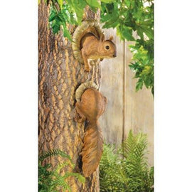 Woodland Squirrel Tree Decor - G Street Furniture Rockville Free delivery maryland dc virginia