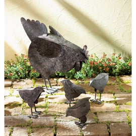 Hen With Chicks Sculpture - G Street Furniture Rockville Free delivery maryland dc virginia
