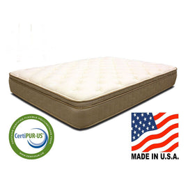 Twin size 11-inch Thick Quilted Euro-top Innerspring Mattress - G Street Furniture Rockville Free delivery maryland dc virginia