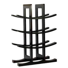 12-Bottle Wine Rack in Dark Espresso Finish Bamboo - G Street Furniture Rockville Free delivery maryland dc virginia