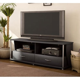 50-in TV Stand in Black Finish - G Street Furniture Rockville Free delivery maryland dc virginia