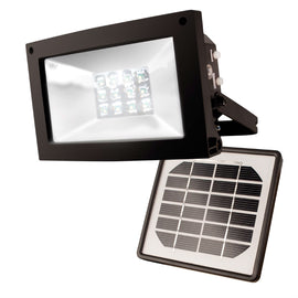 Solar Powered 10-Hour Flood Light - Automatically Turns On at Night - G Street Furniture Rockville Free delivery maryland dc virginia