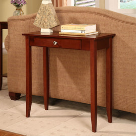 Rosewood 1 Drawer Accent Piece Console Table - G Street Furniture Rockville Free delivery maryland dc virginia