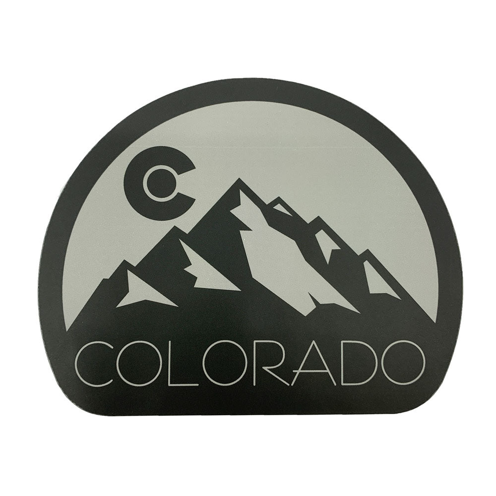Colorado Black Dome Sticker