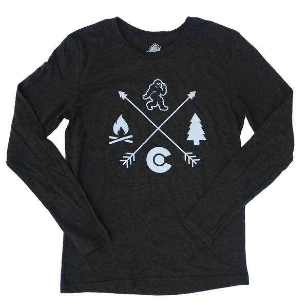 Black Compass Yeti Long Sleeve Tee