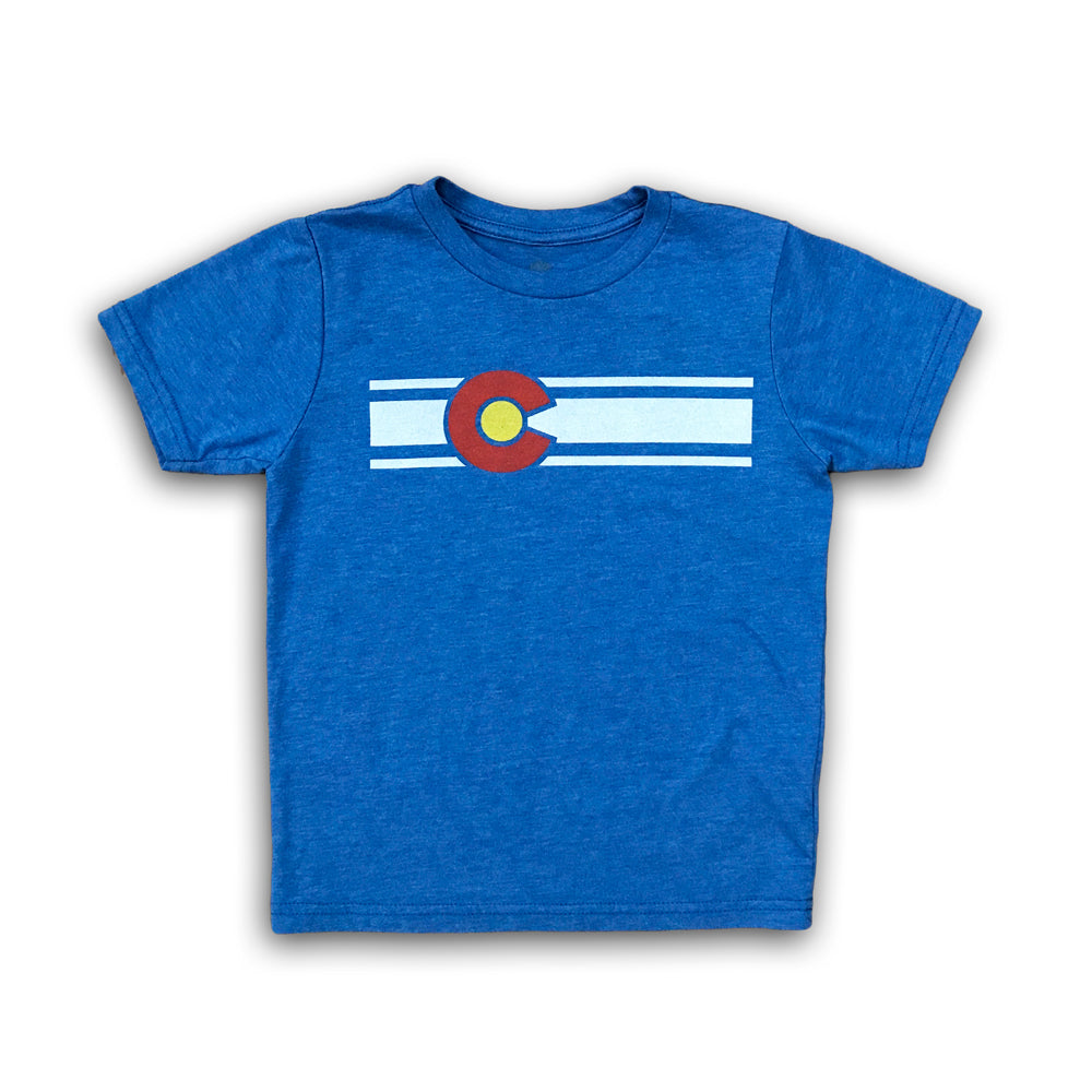 Youth Colorado Flag Tee