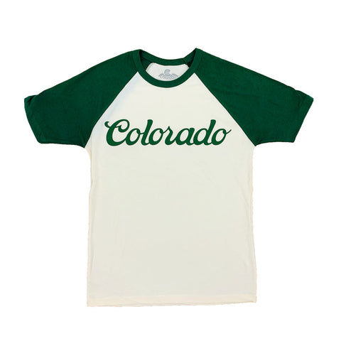 Forest Green Colorado Koolaid Raglan Tee