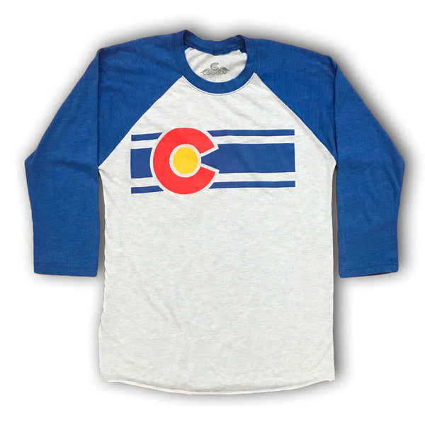 Heather White Colorado Baseball Tee