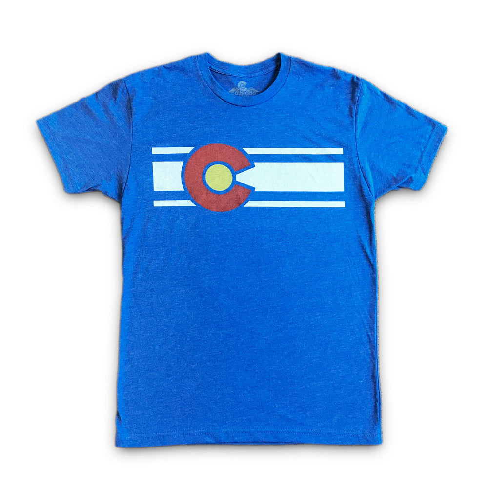 Men's Vintage Colorado Flag Tee